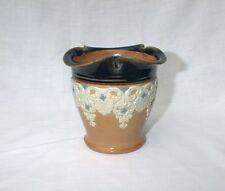 Doulton Lambeth Bisque Vase Flower Pot 10149