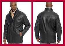 WEATHERPROOF Brand ~ Lambskin Leather Jacket Men's 2XL $475 NWT