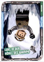 190 - Luke in der Höhle des Wampa - LEGO Star Wars Sammelkarten Serie 1