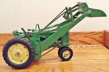 Vtg 50's Ertl Eska John Deere 620 1/16 Scale Toy Tractor, 3 Point Hitch, Loader
