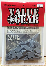 1/72 Scale Resin Tent, Tarp & Crates Stowage Set #1 - Value Gear