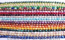 "8-10mm Freeform Freshwater Pearl Gemstone Beads Strand 15"" 20 Strand Wholesale"