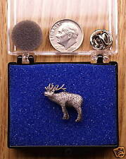 Empire Pewter Elk Single Posted Pin / Tie Tack