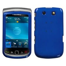 Metallic Blue Hard Case Cover for BlackBerry Torch 9800
