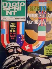 Motosprint 45 1979 Benelli 900 . Kenny Roberts - Listino prezzi moto 197 [SC.31]