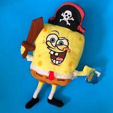 2003 NANCO SpongeBob Squarepants Pirate Plush New w/ Tags