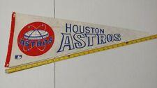 1960 1969 Houston Astros BASEBALL FULL SIZE PENNANT VINTAGE Memorabilia MLB