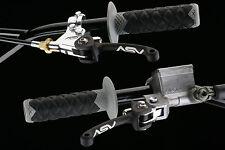 ASV C/5 Brake/Clutch Levers SET Yamaha WR250X Supermoto (08-17) C5 Shorty Black