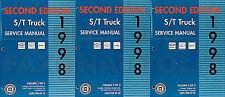 1998 Repair Shop Manual GMC Sonoma Jimmy Envoy Oldsmobile Bravada 98