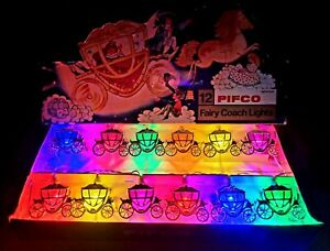 Pifco 12 Cinderella Carriage Fairy Lights, LED conversion.Boxed, great condition
