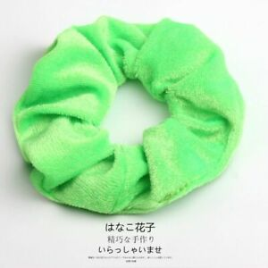 Hair Scrunchies Solid Ring Girls Hairs Ties Ponytail Holders Rubber Elastic Band