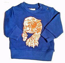 Diesel Baby Boys' Blue Tiger Sweater 9 Months