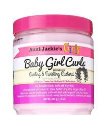 Girls Baby Girl Curls Moisture-Rich Curling & Twisting Custard 426g Aunt Jackie'