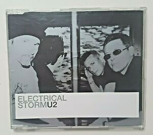 U2 PROMO MAXI-CD : ELECTRIC STORM - ORBIT REMIX