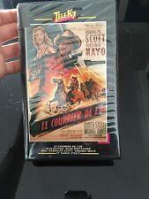 VHS, Cassette Vidéo, K7 : LE COURRIER DE L'OR, Scott, Mayo Western + E.T.