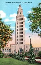 Baton Rouge, Louisiana, State Capitol - Postcard (TTT)