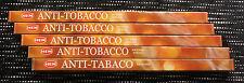 40 Sticks  5 Packs ANTI TOBACCO Musk Mint Scented Incense Insence Bulk Lot HEM