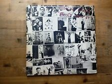 Rolling Stones Exile On Main St 1st Press VG 2 x Vinyl Record Postcards COC69100