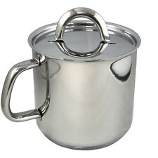 Silampos Stainless Steel Foz Milk Pot 14 1.9 Liters  - 65 Fl.Oz