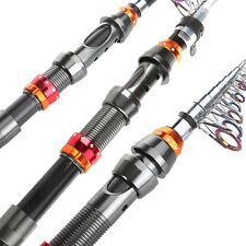 3.3M/10.83FT Portable Carbon Fiber Telescope Fishing Rod Travel Spinning Pole