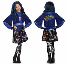 Disney Descendants EVIE Deluxe Halloween Costume for Girls - Size Medium 7/8
