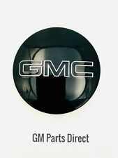 GMC Logo Center Cap in Black OEM GM 84388431