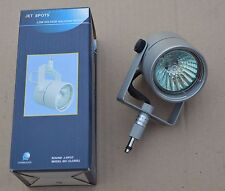 10x SILVER GREY MR16 12V 50W HALOGEN SPOTLIGHT WITH GLOBE MODEL CL5405J