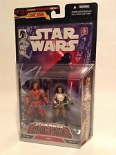 "Star Wars Comic Packs 1 Koffi Arana Bultar Swan 3.75"" Figure Hasbro 2007 MOC"