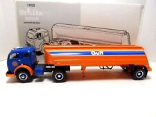 "1996  First Gear  '1953 White 3000 Tractor &  ""Gulf Oil""  Tanker Trailer'   1/34"