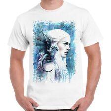 Game of Thrones Khaleesi Art Poster Hipster Cool Retro T Shirt 2317