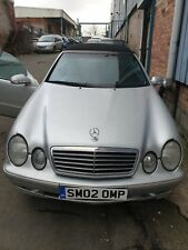 Mercedes Clk 230 Avantgarde 2.3 Petrol 2002 Kompressor Breaking colour k744