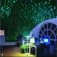 407PCS Lot Glow In The Dark Round Wall Stickers Decor Sticker Kid's Room Decal