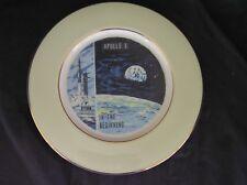 APOLLO 8 IN THE BEGINNING Vintage Souvenir Plate Viletta Arts #549