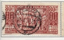 Poland 1929-38 Early Issue Fine Used 80g. 190922