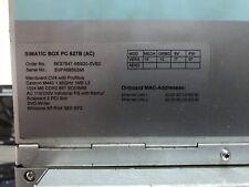 Siemens PC BOX 6ES77647-6BB20-0VB0, SSD 32Gb