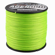 Agepoch 100M-2000M 6-300LB Fluorescent Green/Yellow Dyneema Braided Fishing Line