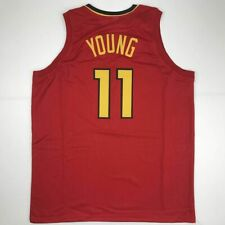af580d16d4a New TRAE YOUNG Atlanta Red Custom Stitched Basketball Jersey Size Men's XL