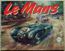 More details for jaguar le mans victory motor racing achievements brochure book 1953