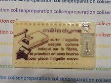 6304 Saphir original Pathe Marconi STC7 Needle stylus Puntina Platine vinyle