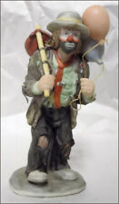Emmett Kelly Miniature Collectible Balloons For Sale Clown Figurine in Box w Coa