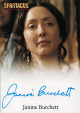 Spartacus Vengeance 2013 Autograph Card Signed by Janine Burchett as Domitia