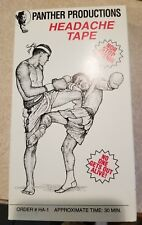 Panther Productions Headache Tape Martial Arts Training VHS Tape