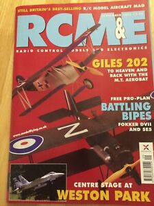 RCM&E SEPT 2003 FREE PLANS  DOGFIGHT DOUBLES