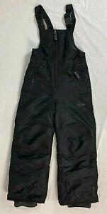 Snow Pants Bib Champion C9 Youth Kids Unisex Black Size XS 4/5 Venture Dry
