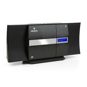 Kompaktanlage DAB+ Radio CD Player Micro Stereoanlage USB MP3 Tuner Bluetooth