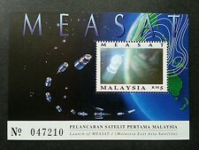 Malaysia East Asia Satellite MEASAT 1996 Space Astronomy (ms) MNH *hologram