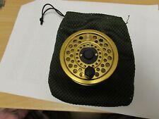unused vintage sharpes penn gold medal freshwater no 2 fly fishing reel + bag