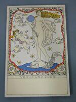 Postkarten,Berthold Löffler,Wiener Werkstätten,Venus und Eros,um 1900,Nr. 914