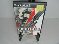 Metal Gear Solid 2 Sons Of Liberty Sony Ps2 PlayStation 2 Game Complete Tested