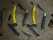 Trango Madame hook ice axes/tools (set of two) - ice climbing, lots of extras